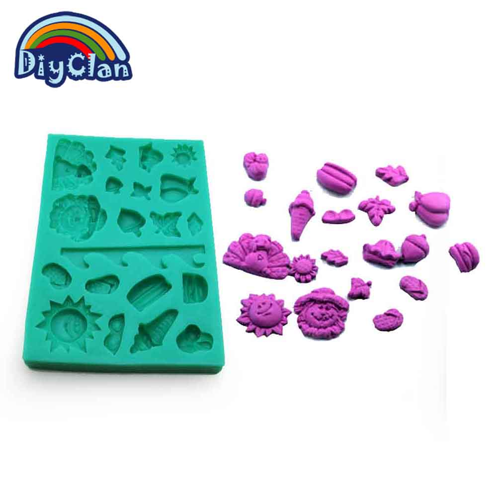 6 molde De Silicone Macia Para Borboletas Chocolate Doce Sabão Cera Resina Gelo Envio Rápido