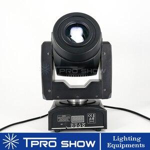 Image 3 - Mini cabezal móvil 90W Spot Lira LED Disco luz prisma efecto de haz DMX512 Control Gobo proyector Dj luces música en movimiento reacción