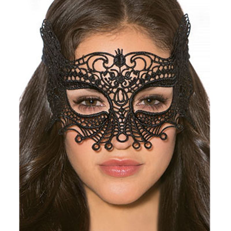 Sex Accessories Black Women Lace Eye Masks Fancy Dress Costume Mask Night Club Party Eye Mask Sex Products CW80607