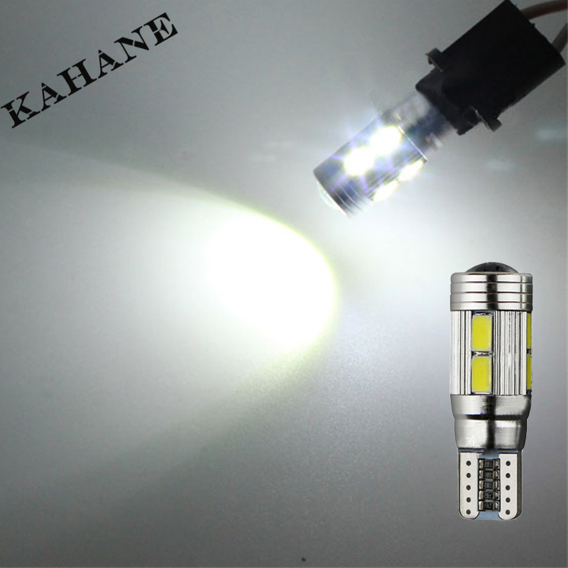 2pcs led T10 w5w canbus car light bulbs with projector lens for vw touareg passat b7 b5 b6 jetta golf 6 7 5 4 touran beetle polo car seat cushion three piece for volkswagen passat b5 b6 b7 polo 4 5 6 7 golf tiguan jetta touareg beetle gran auto accessories
