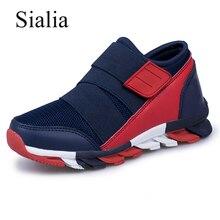 Sialia спортивные детские кроссовки для мальчиков обувь, детские кроссовки для девочек повседневная обувь Обувь с дышащей сеткой кроссовки для бега chaussure fille