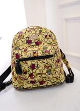 2015 горячая сова ИСКУССТВЕННАЯ кожа женщины рюкзак Новый стиль женщины прохладный назад мешок черный рюкзак школьные сумки для девочек-подростков HBE17