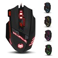 ZELOTES T-90 8 Key Wired USB Optical Pro Gaming Mouse 13 Light Mode 9200DPI for PC game laptops desktops game mice
