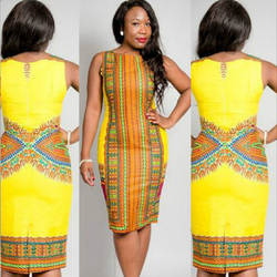 Африканская одежда для женщин 2019 платья рубашка в африканском стиле Дашики Платье Лидер продаж модная одежда из полиэстера