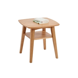 Nordic litego drewniany stolik kawowy dąb stół do negocjacji sofa stolik japoński styl rogi proste lampa do salonu tabeli