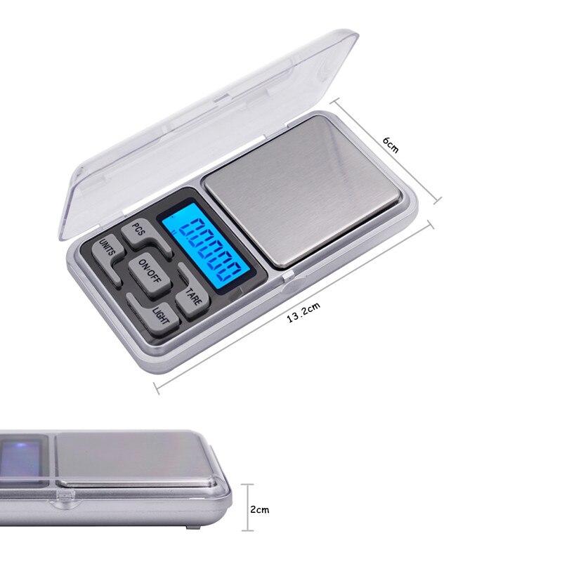 Bilancia tascabile Bilancia digitale per gioielli 0,01 g x 200 g Con - Strumenti di misura - Fotografia 2