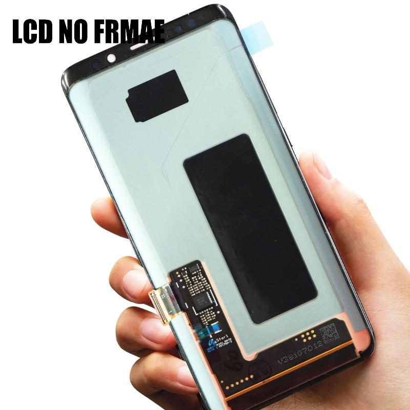 ORIGINAL AMOLED Screen for SAMSUNG Galaxy S9 Lcd Screen S9plus LCD Screen G960 G965 Touch Screen Digitizer