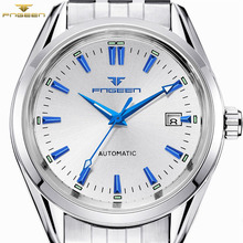 Mens Top Brand FNGEEN Automatic Mechanical Watches Self Wind