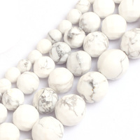 Faceted Howlite Beads For Jewelry Making 6 12mm 15inches DIY Jewellery FreeShipping Wholesale Gem Inside