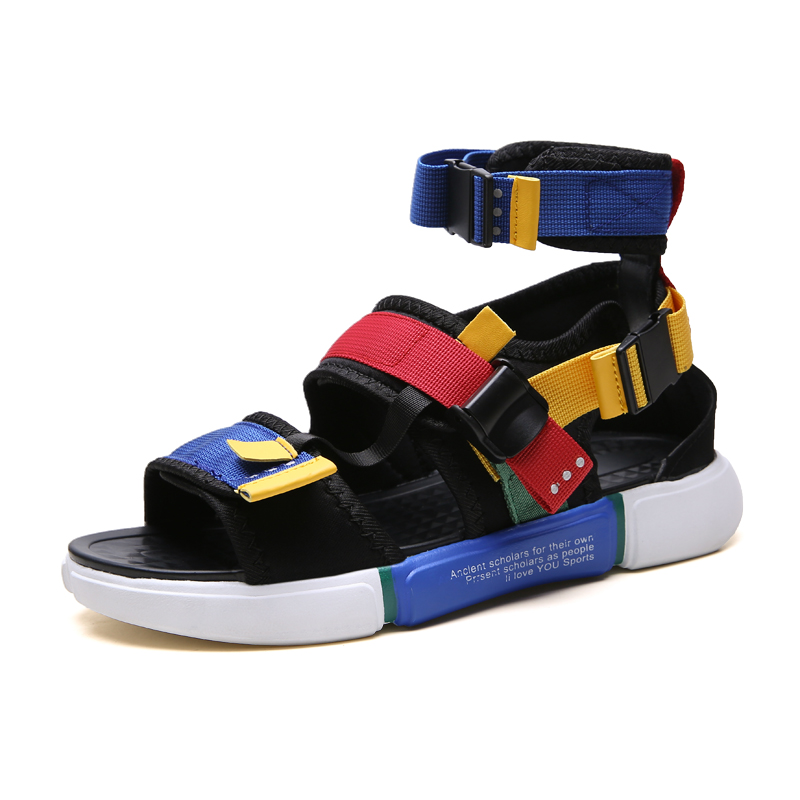 Unisex Summer Slides Mens High Top Shoes Women Gladiator Sandals Designers Platform Comfortable Beach Male Canvas Men Sandalss