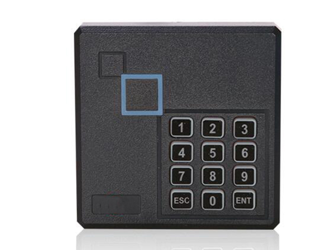 86mm Box Keypad Punch Card Reader 125Khz RFID Card Reader Proximity Card Reader EM Card Reader For Access Control System curved end stainless steel watch band for breitling iwc tag heuer butterfly buckle strap wrist belt bracelet 18mm 20mm 22mm 24mm