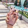 3D Stereo Plating Heart Case For IPhone7 7plus Silver Rose Gold LOVE Heart Coques For IPhone
