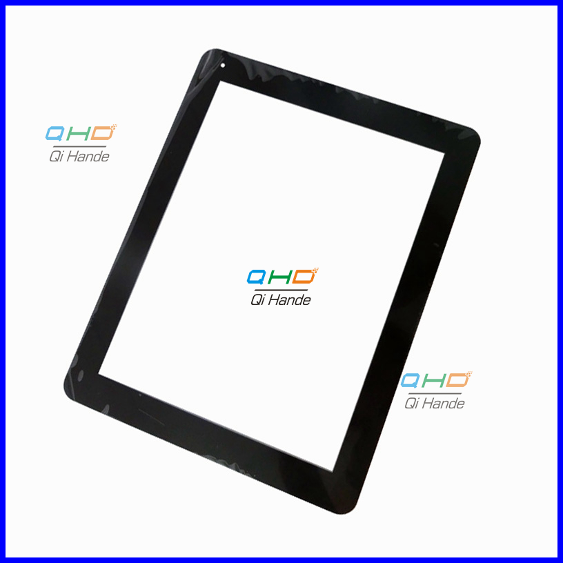 Black New 9.7 inch capacitive touch screen panel Digitizer Sensor replacement For MyAudio Series 9 8GB Tablet PC Free Shipping new replacement capacitive touch screen touch panel digitizer sensor for 8 inch tablet pb80jg2030 free shipping