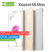 "Original Xiaomi Mi Max smartphone Mimax 6.44"" Snapdragon 650 Hexa Core 4G LTE mobile phones"