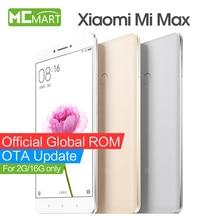 "Original xiaomi mi max mimax smartphone 6.44 ""snapdragon 650 hexa core 4g lte teléfonos móviles"