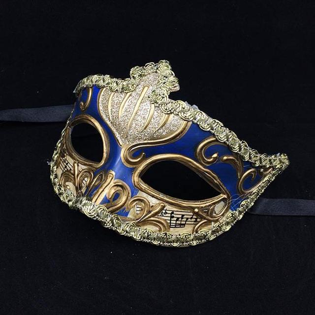 Women's Solid Masquerade Mask