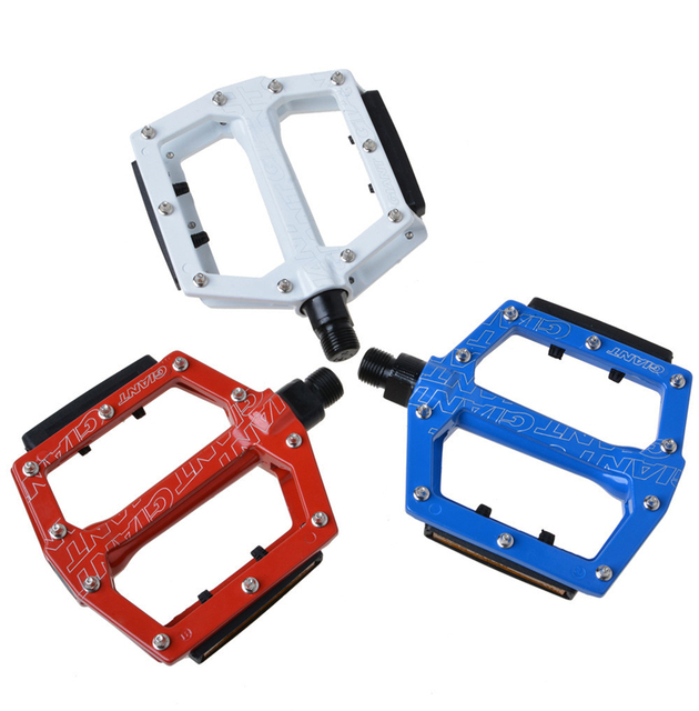 fd486bbec8c Original Ball Bearings Cycling Road Bike MTB Pedals Aluminum Platform  Pedals Core 9/16