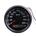 Водонепроницаемый IP67 Универсальный GPS Спидометр 200 км/ч лодка автомобиля спидометр цифровой датчик с подсветкой