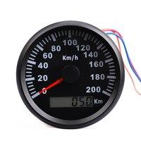 Waterproof IP67 Universal GPS Speedometer Gauge 200 km/h Boat Car Speedometer Digital Gauge With Backlight