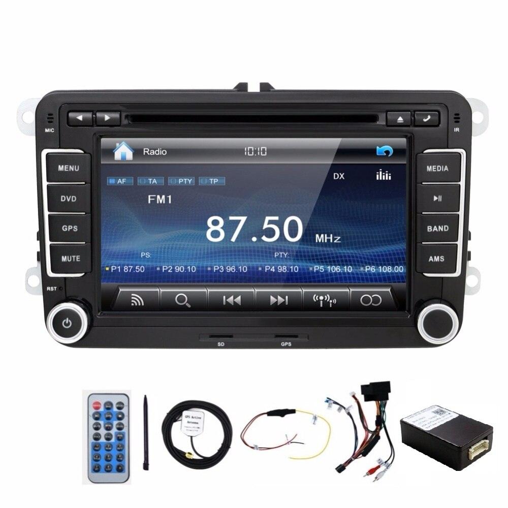 I ri! DVD player me dy makina Për VW T5 / GOLF V / POLO / PASSAT - Elektronikë e makinave