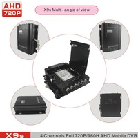 cctv dvr 4ch full ahd real rime recorder mobile dvr 720P ahd dvr for bus/car/vehicle/truck with wifi funciton