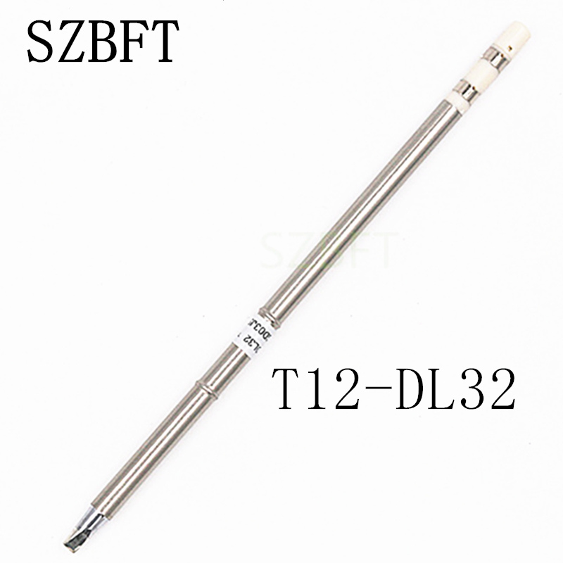 T12-DL32 B B2 BC1 BC2 ILS I D12 D16 J02 JS02 JL02 D24  Iron Tips  For Hakko Soldering Rework Station FX-951 FX-952 Free Shipping