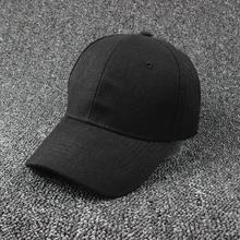 Adjustable Canvas Hat Polo Style Washed Baseball Cap Plain Solid Visor 2018 Cap  for f8e5478757f1