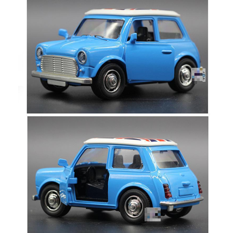 1:36 Diecast Cars Mini Metal Model Car Alloy City Vehicles Toy Brinquedos 1/36 Cooper Model Car Kids Dinky Toys For Children
