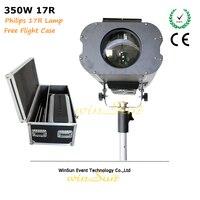 Litewinsune 350 Вт точечные светильники R17 Супер луча последующей стадии освещения 4 Бесплатная кейс