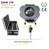 Litewinsune 350W Spot Lighting R17 Super Beam Follow Stage Lighting 4 Free Flight Case