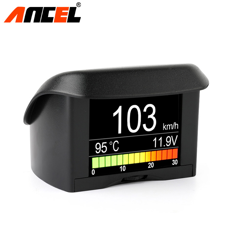 Ancel A202 OBD2 Computer Car Speed Projector Digital Speedometer Display Fuel Consumption Temperature Gauge Diagnostic Tool conspicuous consumption