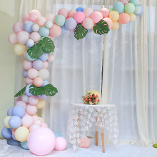 WEIGAO 100Pcs Macaron Candy Color Latex Balloons Pastel Party Baloon Wedding Decoration Baby Birthday Party Valentines Day Decor