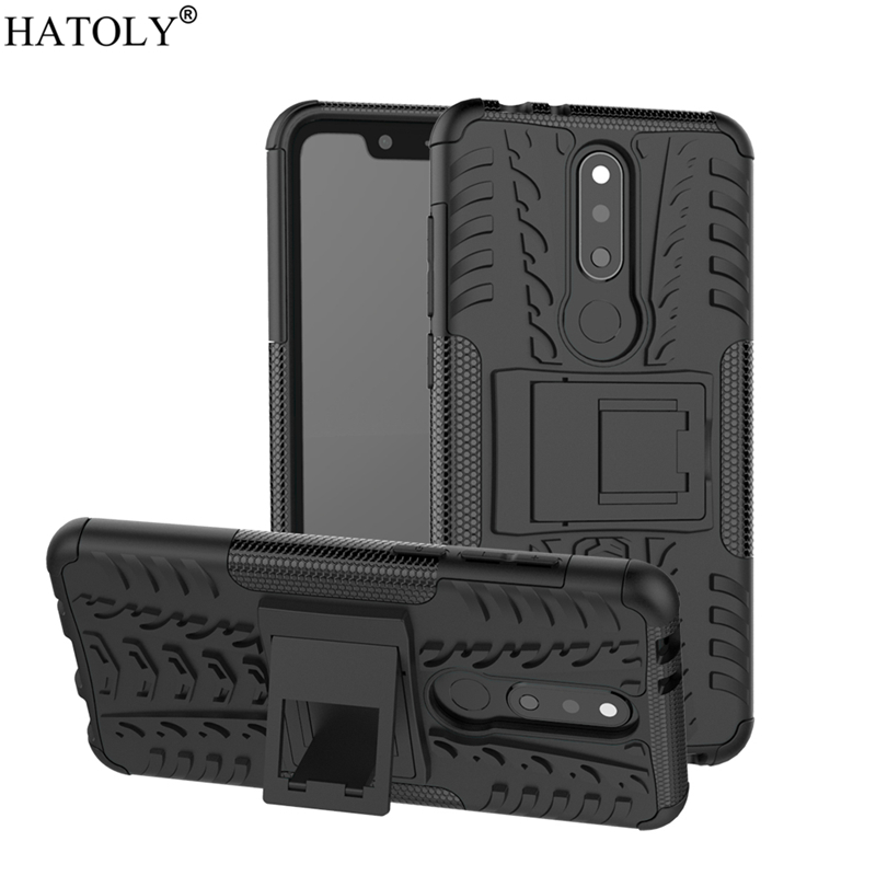 For Cover Nokia 5.1 Plus Case Shockproof Armor Heavy Duty Hard Rubber Phone Case for Nokia 5.1 Plus Cover for Nokia 5.1 Plus X5