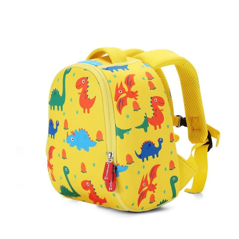 Hot Children 3D Cartoon Kids Backpack Cute Animal Design Toddler Kid School Bags Kindergarten Bag Anti Lost Backpack Kids Gifts