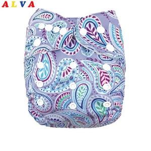 ALVA Детские Экологичные пеленки с 1 шт. микрофибры вставки H034