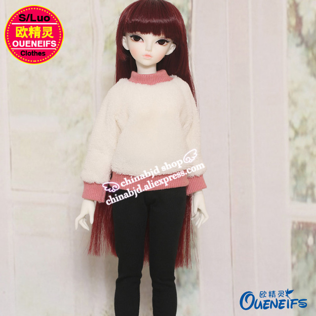 OUENEIFS free shipping ,Autumn or winter sweater,pants or A full suit of clothes,1/4 bjd/sd doll clothes,no doll or wig YF4-167 1