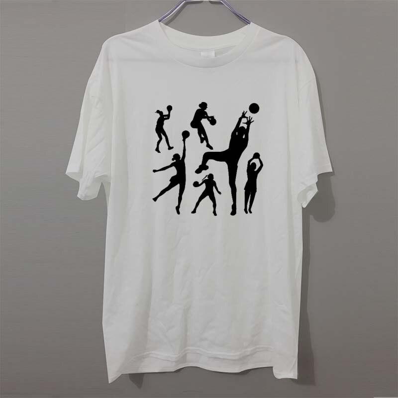 Short Sleeve 2017 Fashion Summer Crew Neck Handballer Sporter Game Net Game T Shirts