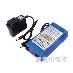 Special high capacity rechargeable polymer battery 8600MAH 12V proof quality chargers with 1A