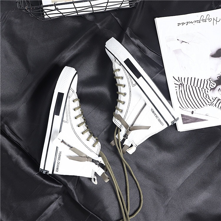 Chaussures Toile Noir Mode Chaussures Tendance Casual Vent blanc Haute Confortable Nouvelle De 2018 Respirant Femmes Automne Rétro Simple La H48q80
