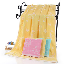 Cotton Two Double Gauze Bath Towel Newborn Children Blanket Breathable 70*140cm