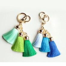 Starry-Styling Bohemia Tassel Bag Key Ring Car Key Pendant Delicate Women Gift New Keychain