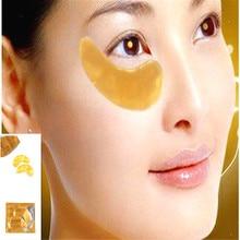 30 шт. (15 пар) lisita новый бренд золотой кристалл коллагеновая маска для глаз кольцо глаз патчи глаз против морщин удалить черные глаза Уход за лицом