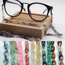 70cm Finished Glasses Acrylic Chains Cord Fashion 6*9mm Styles Eyewear Lanyard S