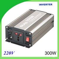300W pure sine wave solar power inverter DC 12V 24V to AC 110V 220V digital