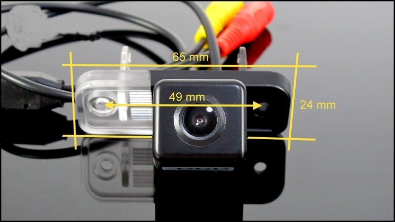 Car Camera For Mercedes Benz C Class MB W203 2001~2007 High Quality Rear View Back Up Camera For Friends Use  CCD + RCA size