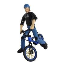 Mini dedo BMX Bicicletas Flick con los Jinetes Trix dedo bicicletas Juguetes BMX Bicicletas bicicleta modelo gadgets novedad mordaza Juguetes para niños regalos
