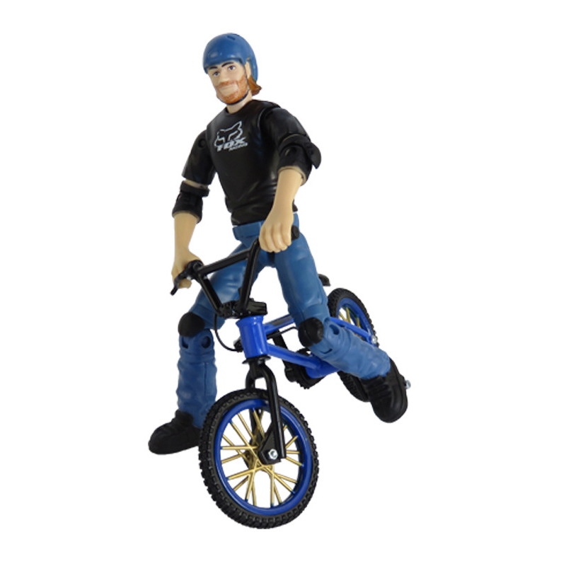 Mini Finger BMX Bicycle Flick with Riders Trix Finger Bikes Toys BMX Bicycle Model Bike Gadgets Novelty Gag Toys For Kids Gifts