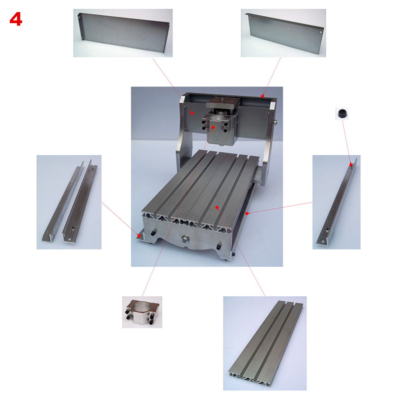 CNC router frame 30*20 milling machine frame 30X20 30X40 60X40 frame ...