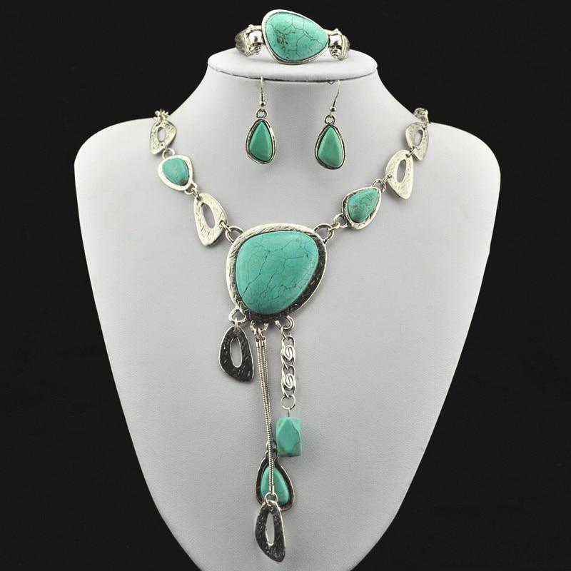 S211 e Necklace Pendant & Earring & Bracelet ,Jewlery ,Women Gift,Vintage Look,Tibet Alloy