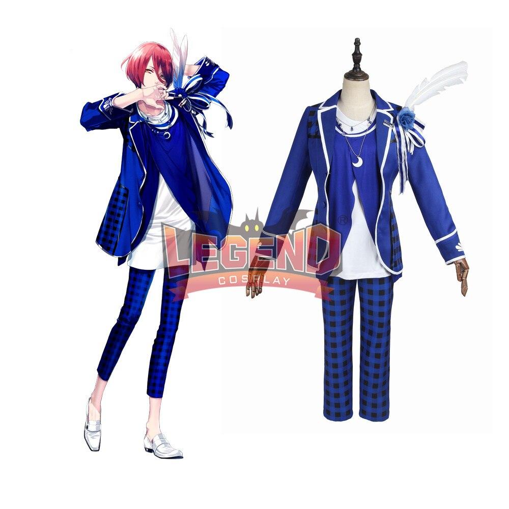 Anime B-project Kodou Ambitious MooNs Momotaro Onzai Cosplay Costume Coat adult costume halloween costume custom made full set